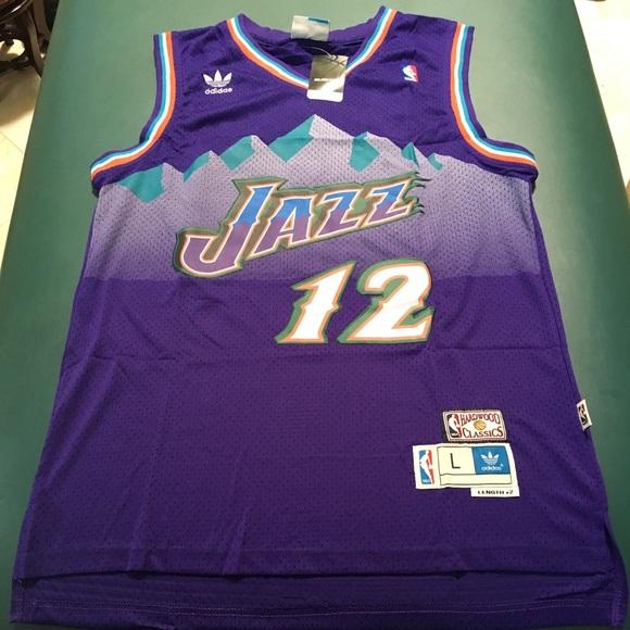 on sale 09359 88c5d John Stockton Utah Jazz NBA Jersey